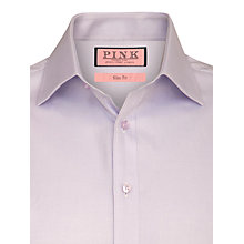Buy Thomas Pink Twill Shirt, Lilac Online at johnlewis.com