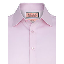Buy Thomas Pink Twill Shirt, Pink Online at johnlewis.com