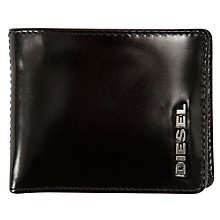 Buy Diesel Neela F&B XS Wallet, Black/purple Online at johnlewis.com