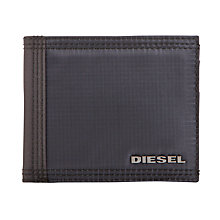 Buy Diesel Canvas Bi-Fold Wallet, Multi Online at johnlewis.com