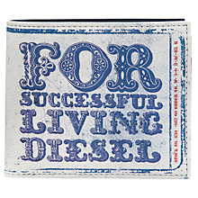 Buy Diesel Hiresh For Successful Living Print Wallet Online at johnlewis.com