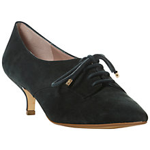 Buy Dune Abusted Suede Kitten Heel Court Shoes, Green Online at johnlewis.com