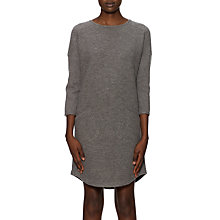 Buy Whistles Daisie Boiled Wool Dress, Grey Online at johnlewis.com