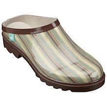 Buy Country Living Stripe Gardening Clogs Online at johnlewis.com