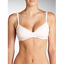 Buy John Lewis Megan Non Wired Bra, Pink Online at johnlewis.com