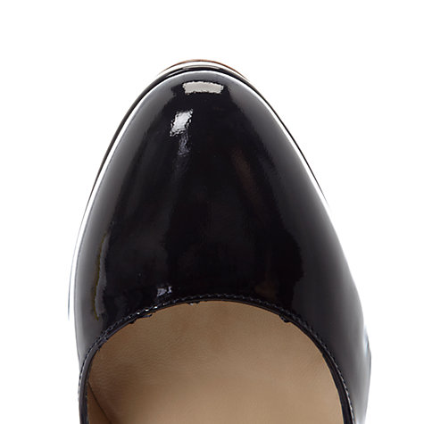 Buy Hobbs Juliet Patent Leather Platform Stiletto Court Shoes Online at johnlewis.com