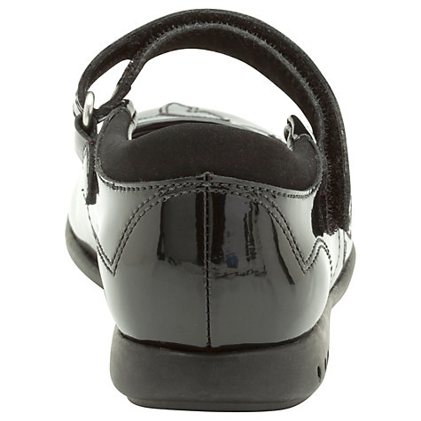 Buy Clarks Breena Love Shoes, Black Patent Online at johnlewis.com