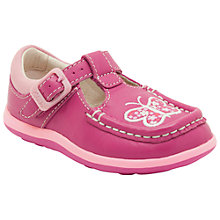 Buy Clarks Alana Star Shoes, Hot Pink Online at johnlewis.com