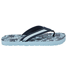 Buy John Lewis Boy Fish Flips Flops, Navy Online at johnlewis.com