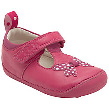 Buy Clarks Ida Sparkle Shoes, Raspberry Online at johnlewis.com