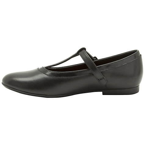 Buy Clarks Erica Petal Shoes, Black Online at johnlewis.com