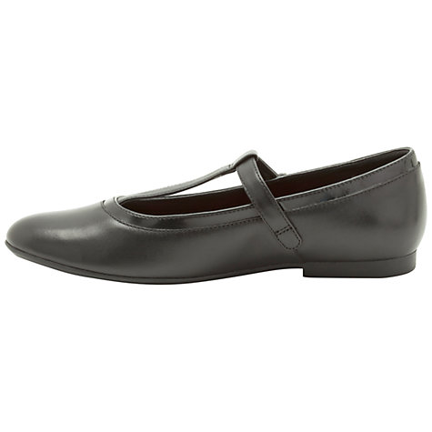 Buy Clarks No Summer Shoes, Black Online at johnlewis.com
