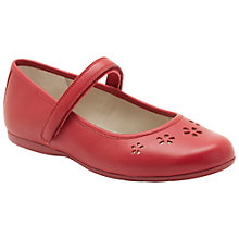 Buy Clarks Dance Feet Shoes, Red Online at johnlewis.com