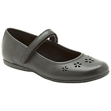 Buy Clarks Dance Flower Shoes, Black Online at johnlewis.com