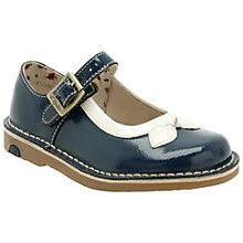 Buy Clarks Home Gem Shoes, Navy Online at johnlewis.com