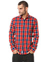 Original Penguin Check Long Sleeve Shirt, Red