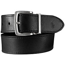 Buy Polo Ralph Lauren Reversible Belt, Black/Brown Online at johnlewis.com