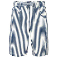 Buy John Lewis Marine Stripe Lounge Shorts, Blue Online at johnlewis.com