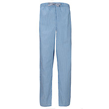 Buy John Lewis Chambray Cotton Stripe Lounge Pants, Blue Online at johnlewis.com