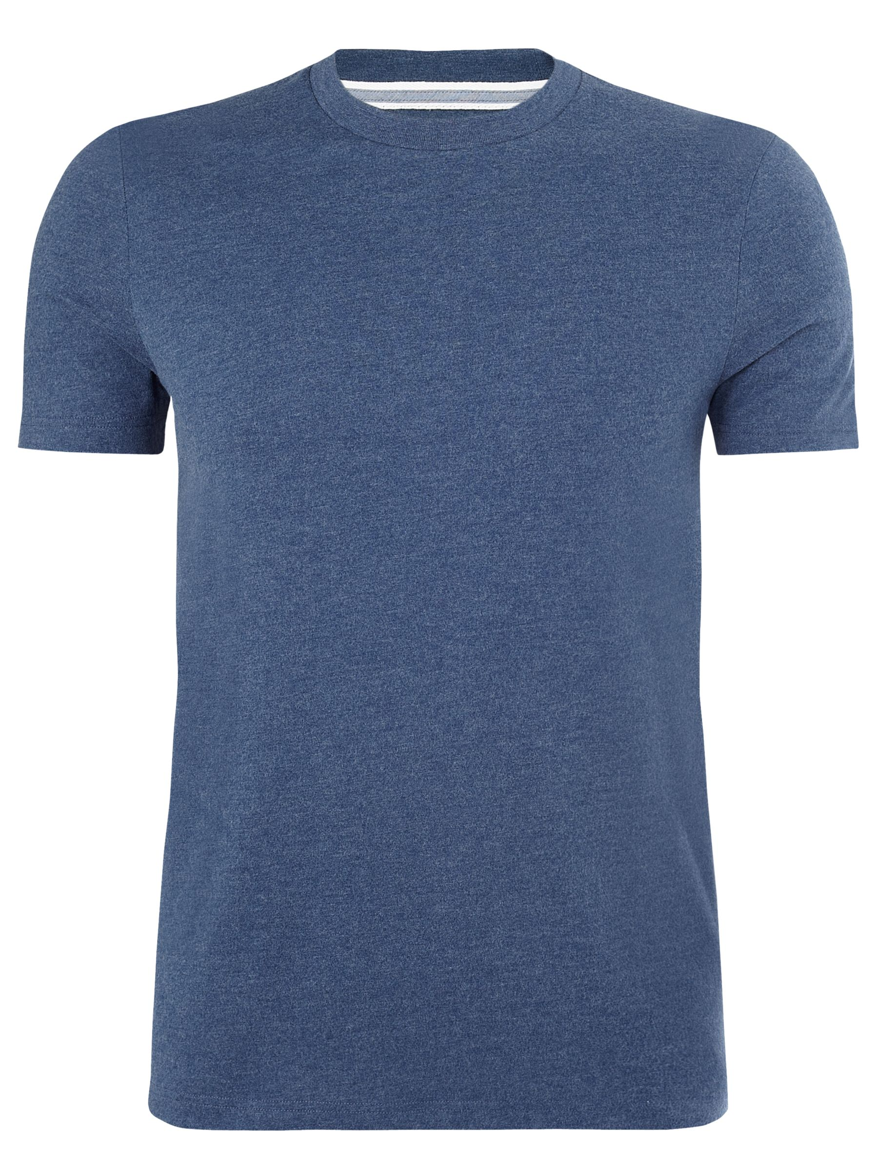 John Lewis Plain T-Shirt, Navy