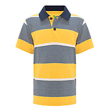 Buy John Lewis Boy Multi Striped Polo Shirt Online at johnlewis.com
