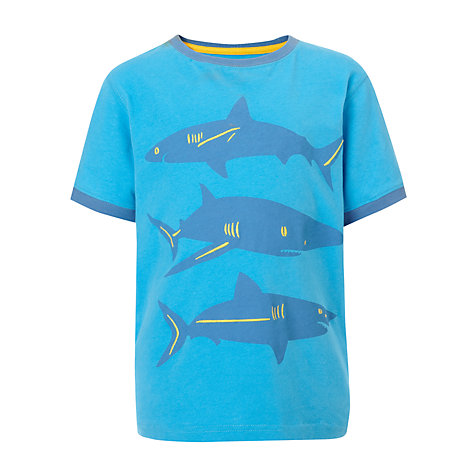 Buy John Lewis Boy Big Shark T-Shirt Online at johnlewis.com