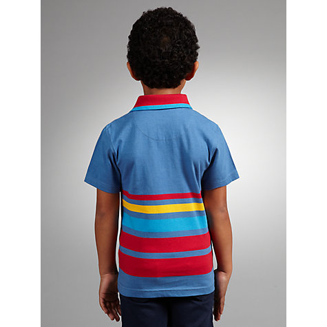 Buy John Lewis Boy Multi-Fashion Striped Polo Shirt Online at johnlewis.com