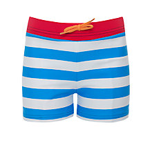 Buy John Lewis Boy Striped Swimming Trunks Online at johnlewis.com