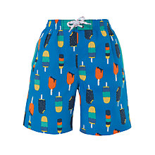 Buy John Lewis Boy Ice Lolly Swimming Shorts Online at johnlewis.com