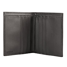 Buy John Lewis Made in Italy Saffiano Leather Bifold Wallet, Black Online at johnlewis.com