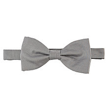 Buy John Lewis Puppytooth Bow Tie, Blue Online at johnlewis.com