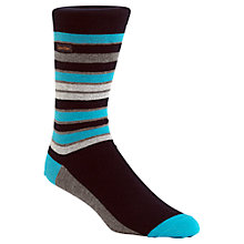 Buy Calvin Klein Stripe Socks Online at johnlewis.com