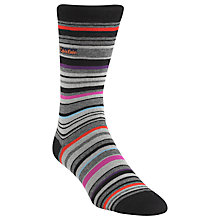 Buy Calvin Klein Barcode Stripe Socks, One Size, Black Online at johnlewis.com