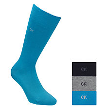 Buy Calvin Klein Knitted Socks, Pack of 3 Online at johnlewis.com