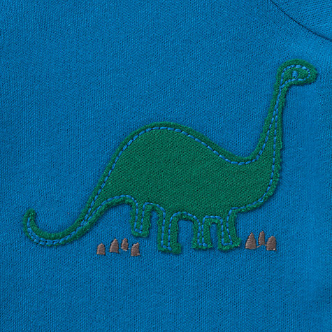 Buy John Lewis Baby Dino and Stripes Sleepsuits, Pack of 3, Multi Online at johnlewis.com