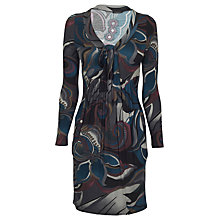 Buy James Lakeland Long Sleeve Autumn Print Dress, Print Online at johnlewis.com