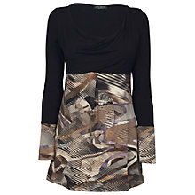 Buy James Lakeland Contrast Print Tunic, Print Online at johnlewis.com