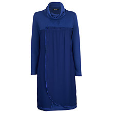 Buy James Lakeland Georgette Jersey Dress, Blue Online at johnlewis.com