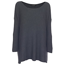 Buy James Lakeland Boat Neck Jumper, Charcoal Online at johnlewis.com
