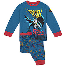 Buy Batman Swing Pyjamas, Blue Online at johnlewis.com