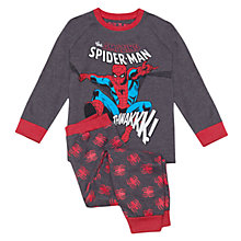 Buy Spider-Man Jump Pyjamas, Grey/Red Online at johnlewis.com