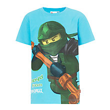Buy LEGO Ninjago Character T-Shirt, Blue Online at johnlewis.com