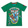 Buy Spider-Man and Iron Man T-Shirt, Green Online at johnlewis.com