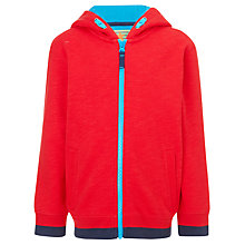 Buy John Lewis Boy Waffle Zip-Through Hoodie Online at johnlewis.com