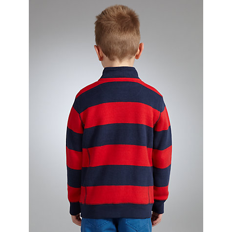 Buy John Lewis Boy Striped Funnel Neck Jumper Online at johnlewis.com