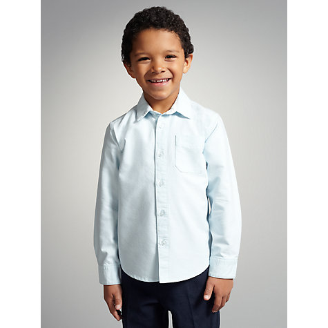 Buy John Lewis Boy Long Sleeved Oxford Shirt Online at johnlewis.com