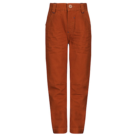 Buy John Lewis Boy Carrot Leg Trousers Online at johnlewis.com