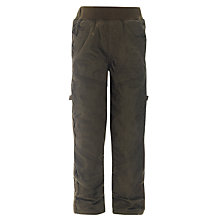 Buy John Lewis Boy Panelled Skater Trousers, Khaki Online at johnlewis.com