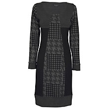 Buy James Lakeland Three Panel Dress, Black/Grey Online at johnlewis.com