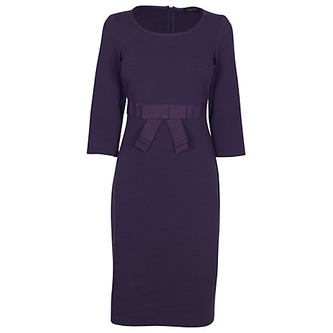 Buy James Lakeland Bow Dress, Purple Online at johnlewis.com